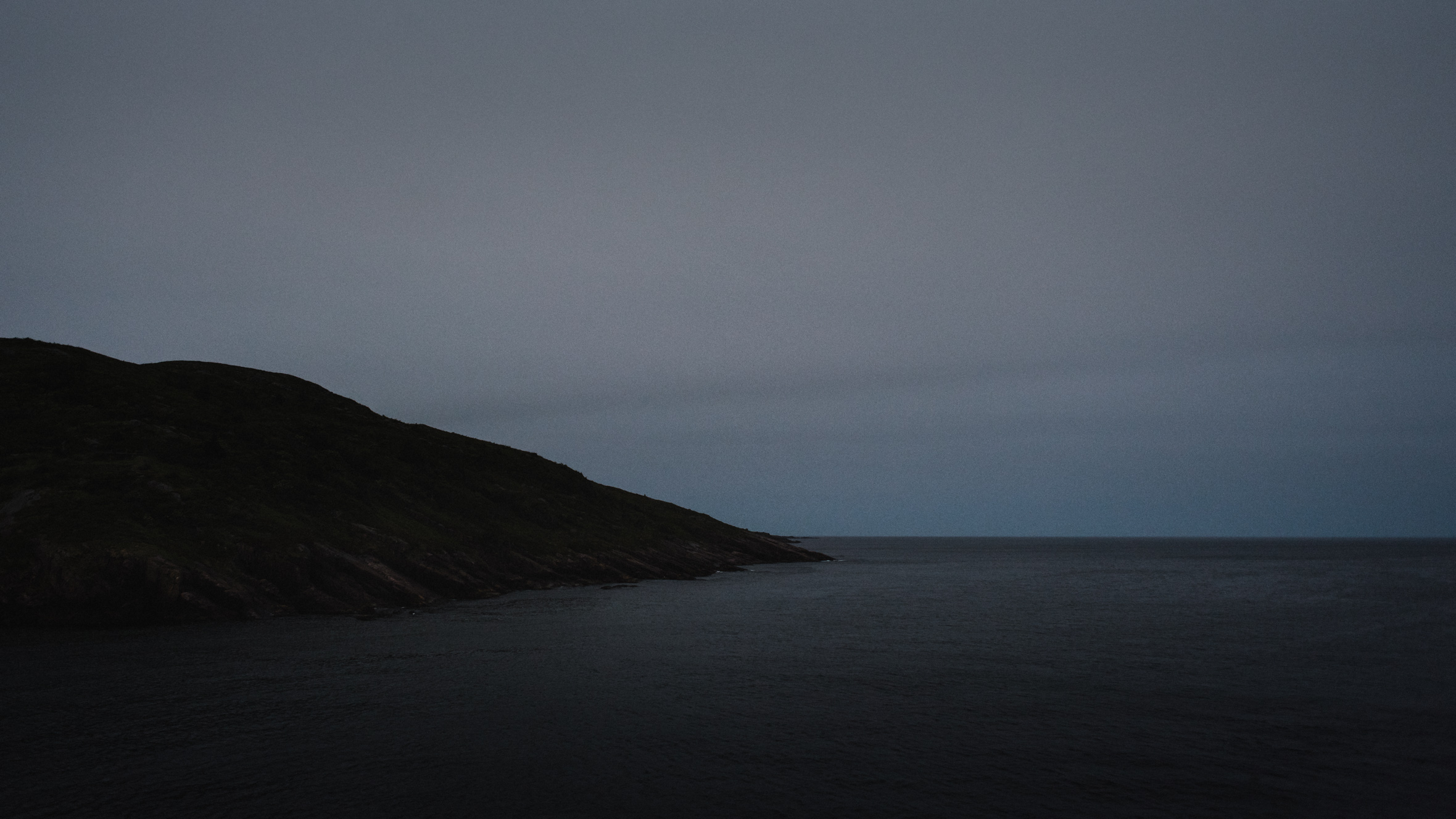 Newfoundland landscape photo of Ocean